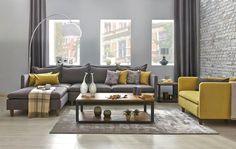 Tepe Home Koltuk Takımı 2015-2016 Modelleri (3) Mustard Living Rooms, Living Room Orange, Living Room Grey, Living Room Modern, Salon 2017, Rugs In Living Room, Living Room Decor, Living Room Designs, Living Room Inspiration