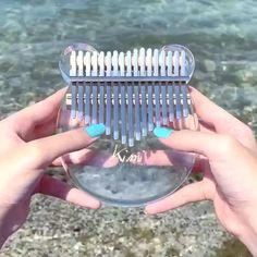 Crystal Transparent Kalimba Thumb Piano