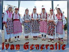 National costumes of South Eastern Europe: The colours used on the costumes many times depict the colours of owner's village. Folk Costume, Costumes, Visit Croatia, Folk Embroidery, Thinking Day, People Of The World, Traditional Dresses, Traditional Fashion, Traditional Wedding