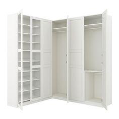 PAX Penderie d'angle IKEA Garantie 10 ans gratuite. Détails des conditions disponibles en magasin ou sur internet.