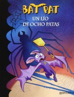 Un lío de ocho patas / Bat Pat. ¿Sabéis a qué animales les encantan las moscas y los mosquitos, prefieren la oscuridad y son muy, muy listos? No, no se trata de los dulces murciélagos, estoy hablando de las temidas ¡arañas! Esos terroríficos bichos peludos, silenciosos y de ocho patas. Por cierto, ¿os he contado alguna vez que Rebecca las adora? Esto solo quiere decir una cosa: ¡problemas!