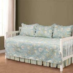Brentwood Quilted Ivory/Taupe 4-piece Daybed Set ...