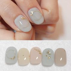 Фотография in 2020 Korean Nail Art, Korean Nails, Minimalist Nails, Nail Swag, Simple Nail Art Designs, Nail Designs, Trendy Nails, Cute Nails, Uñas Fashion