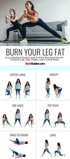 Doing leg exercises at home is probably a lot easier than you realise. You don't need a leg press machine, or a stair climber, or a squat bar to fire up those lower-body muscles. Body Weight Leg Workout, Best Leg Workout, Leg Workout At Home, At Home Workouts, Leg Press Workout, Thin Legs Workout, At Home Hamstring Workout, Back Of Thigh Workout, Best Inner Thigh Workout