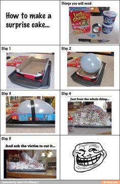 heheh cake