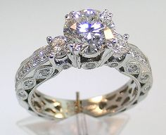 Vintage Bridal Ring Sets | Vintage Wedding Ring for Romantic Bridal
