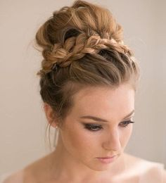 Updo Hairstyles For Long Hair Classy 39 Elegant Updo Hairstyles For Beautiful Brides  Pinterest  Updo