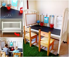 Baby Crib Playstation Upcycle