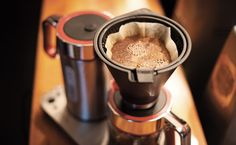 Svart manuell New coffee brewer from Wilfa! Developed in cooperation with Tim Wendelboe