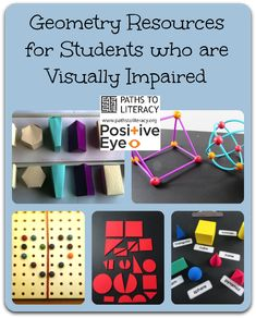 Instructional materials for making geometry accessible to students who are blind or low vision