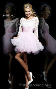 Cute Cheap Sherri Hill 21234 Short A-Line Cocktail Dress 2014
