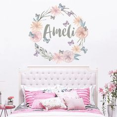Personalized Name Wall Decal Rustic Nursery Decal by DecalHouse