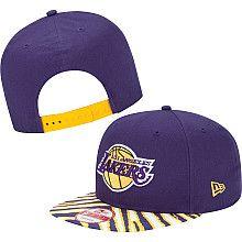51c8cf2ef89 New Era Los Angeles Lakers Zubaz Snapback Hat