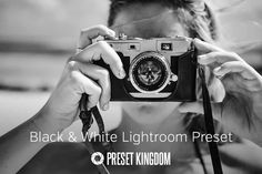 Here you have Best Free Lightroom Presets that are useful for all types of users. Lightroom presets are a perfect tool to save your time and retouch your images within seconds. Vintage Lightroom Presets, Best Free Lightroom Presets, Black And White Portraits, Black And White Photography, Bokeh, Photoshop, Black And White Effect, Black White, Photo Hacks