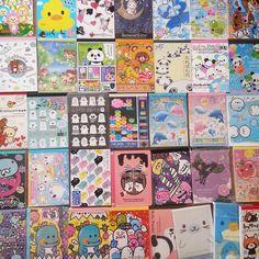 50 Piece KAWAII GRAB BAG!! Brand name Large Memos, Mini Memos & Sticker Flakes - Random Selection - Free Shipping! by CrescentCat on Etsy https://www.etsy.com/listing/217641165/50-piece-kawaii-grab-bag-brand-name