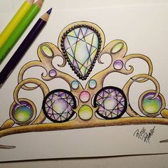 Color a creation Gemstones Volume 2  #gemaholic #gemaddict #gemstones #gem #vitruvianart #coloringforgrownups #coloringbook #color #adultcolouring #adultcoloringbook