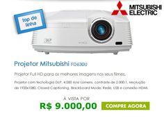 :: NOVA PROJETOR BRASIL ::: CINEMA EM CASA: Mitsubishi FD630U Full HD 1080P 40...