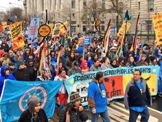 Last week, Native Nations rose up in the capitol and across the country, heeding a call to action from the Standing Rock Sioux Tribe. As part of #NativeNationsRise, they erected tipis around the Washington Monument, held daily events, and, on March 10th, marched to the White House with thousands of Indigenous peoples and their allies....