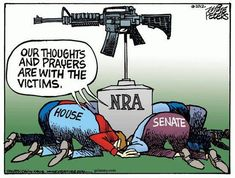 We don't need you thoughts and prayers as much as we need your ACTION to prevent the creation of more gun violence victims. Stop worshiping guns and start caring about people.