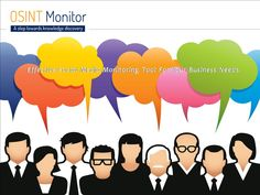 OSINT Monitor is an effective Online Brand Reputation Management Tool for analyzing and monitoring the company or businesses brand presence over the web.