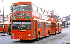 London Transport: from Thornton Heath Garage in West Croydon Bus Station on Route 64 Road Transport, London Transport, Public Transport, Uk History, Local History, Rt Bus, Thornton Heath, Routemaster, Buses And Trains
