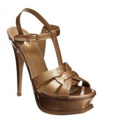 Yves Saint Laurent Tribute 60 platform sandal