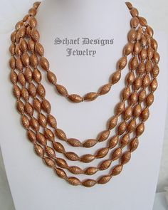 Schaef Designs Copper bead necklace pairing | New Mexico