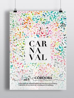 Poster design. #Córdoba #carnaval