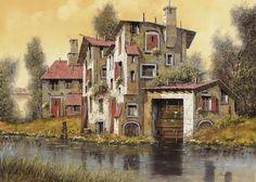 il mulino giallo by Guido Borelli