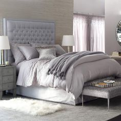 Pine Cone Hill Silken Solid Duvet Cover @LaylaGrayce