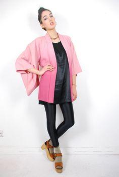 Vintage Shibori Haori Jacket