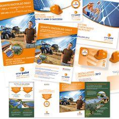 ENERPOINT - Brochure di Prodotto - Roll up - Card associativa - Invitation - Impaginazione grafica Creativa - fotoritocco