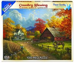 COUNTRY BLESSING - 1000 Piece Jigsaw Puzzle