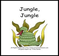 $1 Jungle Theme Preschool Activities