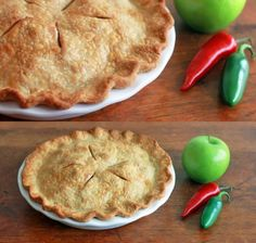 Angry Apple Pie Step back please, this spicy version of an all American apple pie takes no prisoners.