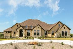 Hill Country Dream Home - thumb - 01 Best House Plans, Country House Plans, House Floor Plans, Aka House, 400 M, Huge Kitchen, Flex Room, Ceiling Treatments, Architectural Design House Plans