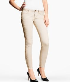 Skinny low jeans by H $39.95