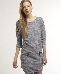 Reverse Loop Zip Kleid
