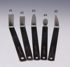 A Set of 5 The Best Stainless Steel Pottery Trimming by hsinchuen