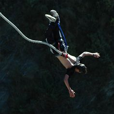 whose in? its not that far Bridge to Nowhere Bungee Jump in Los Angeles | Cloud 9 Living Gifts
