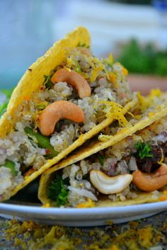 Make These Cheesy Asparagus Quinoa Tacos Tonight (Bonus: They're Lactose-Free!)
