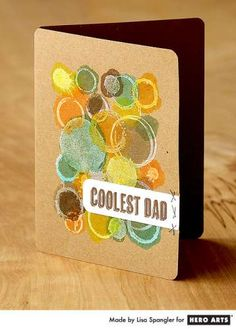 Project: Cool Dad Card