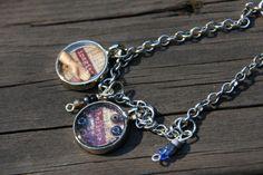 Imagine and BelieveA Charm Bracelet by purpleartlove on Etsy, $20.00