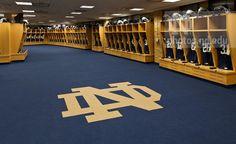 Notre Dame Football Stadium Locker