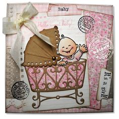 Marianne Design Collectables Cutting Dies & Clear Stamps - Eline's Baby COL1313 < Craft Shop | Cuddly Buddly Crafts