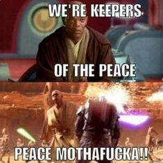 cool Funny Memes That Will Make You Laugh Every Damn Time Star Wars Clone Wars, Star Wars Art, Memes Humor, Nerd Humor, Cuadros Star Wars, Star Wars Jokes, Funny Star Wars, Star Wars Comics, Prequel Memes