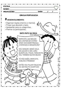 Alfabetizar com AMOR: Festa Junina