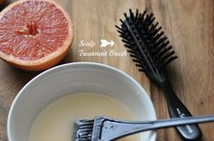 Coconut Oil Scalp Treatment