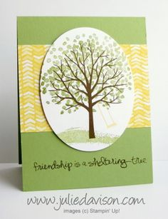Clearn & Simple Sheltering Tree Card by juls716 - Cards and Paper Crafts at Splitcoaststampers