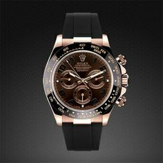 Rolex Daytona on Strap Rose Gold - Classic Series
